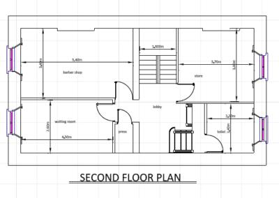 Second Floor Plans Fire Safety Certificates Ireland