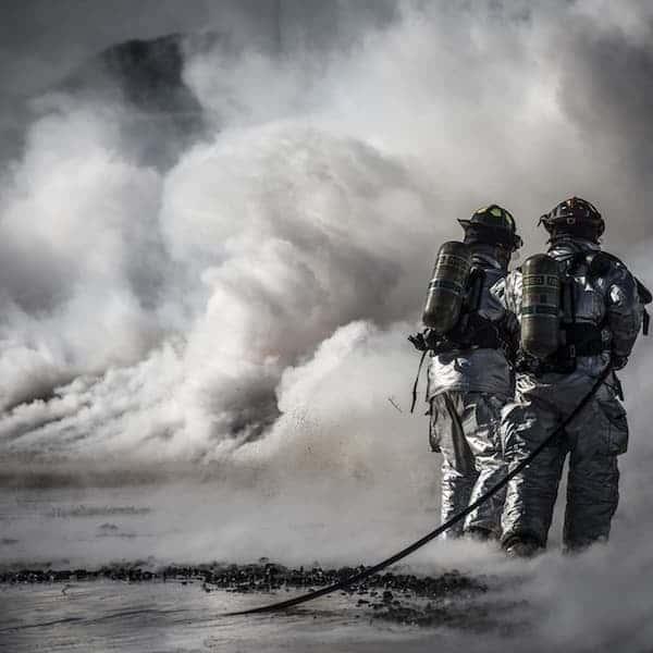 firefighters in Cork